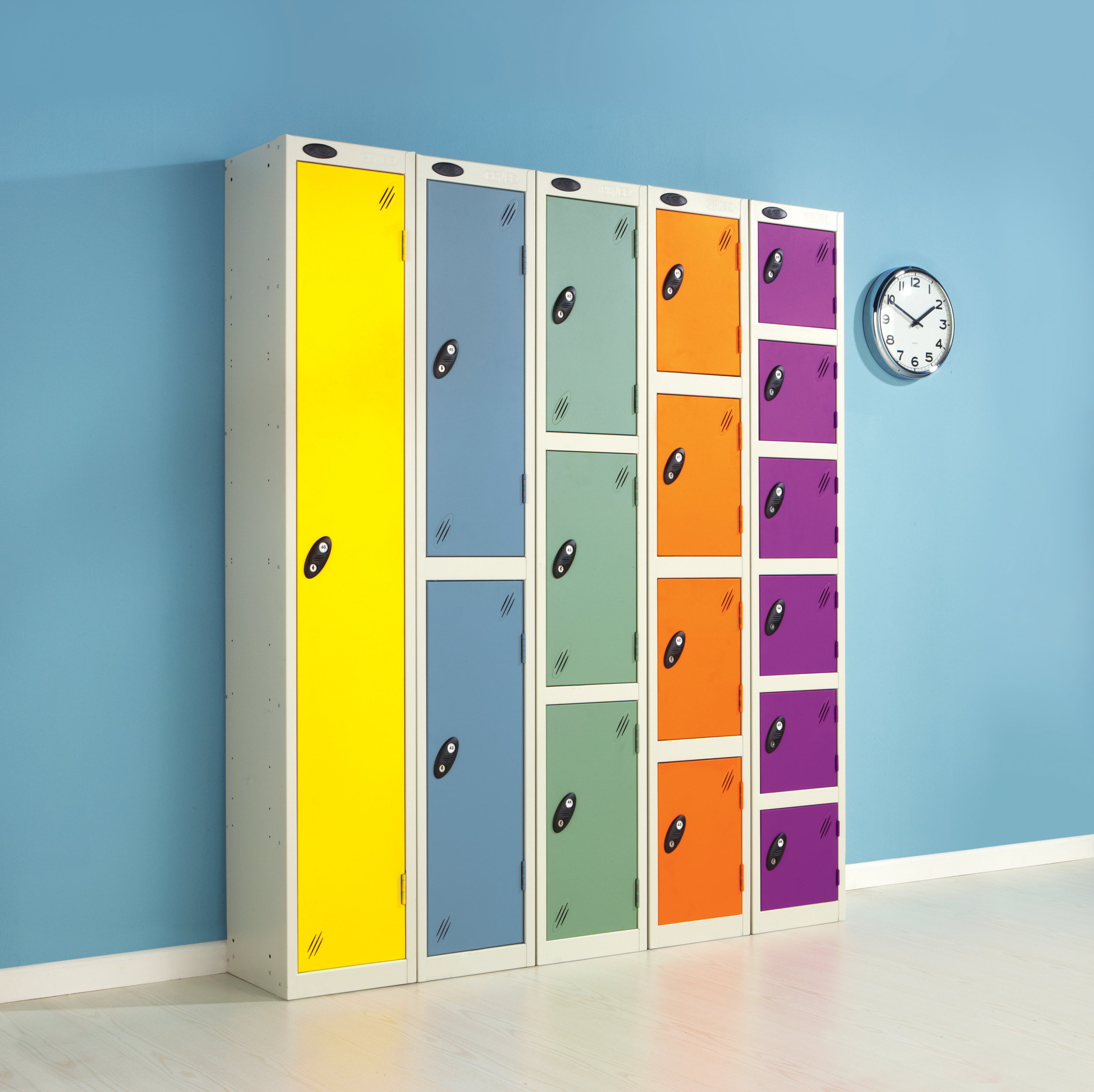 Colour Range Lockers