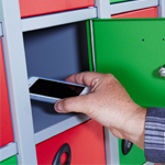 Mobile Phone & Personal Effects Storage Lockers