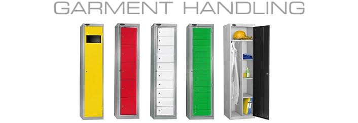 Wide range of Garment & Uniform management Lockers