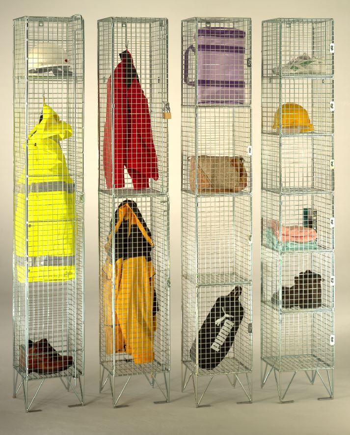 Wire Mesh Economy Lockers