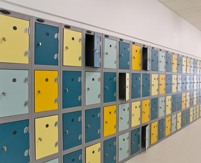 Shockproof Lockers -  Inset Door