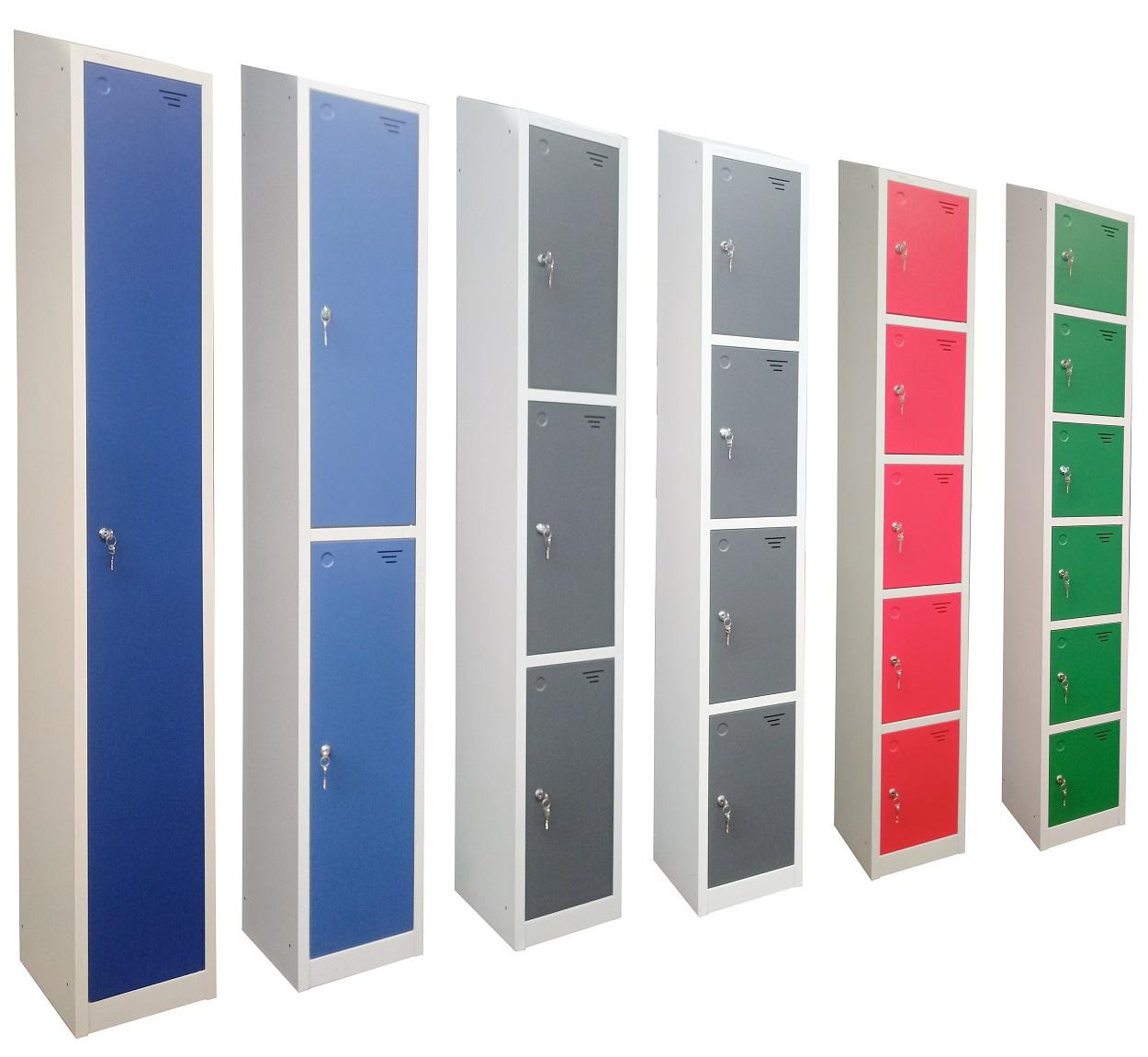1-6 Door Lockers