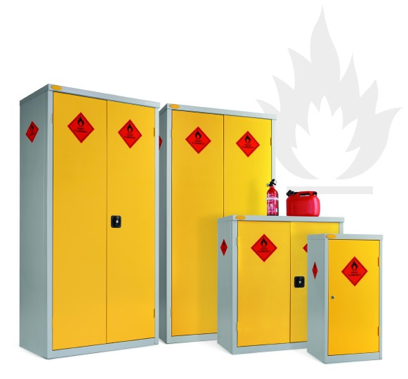 Hazardous Cabinets 85 Kg Swl Shelves
