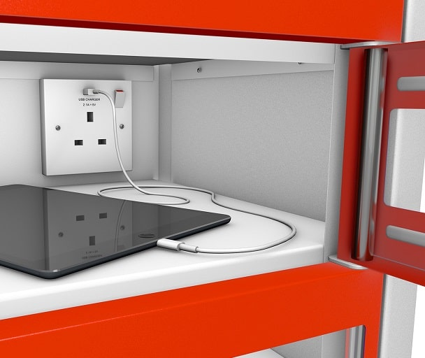 Mobile Phone - POWERED CHARGING Lockers