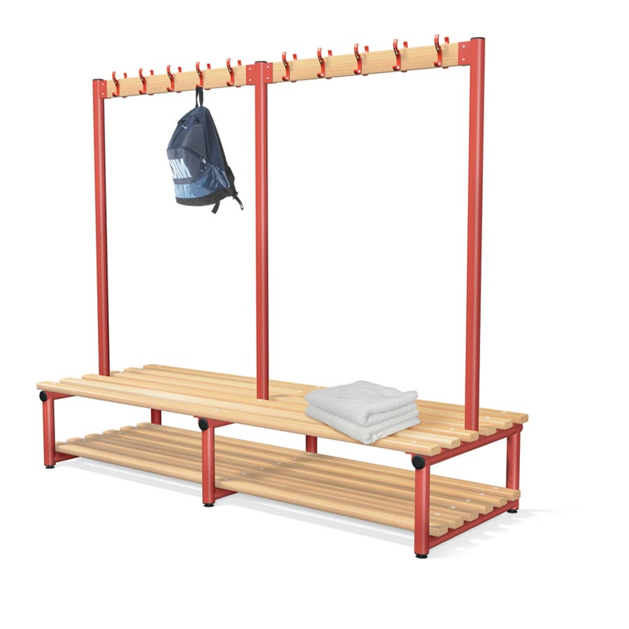 Double Sided Bench Integrated Hook Board - Type D Junior