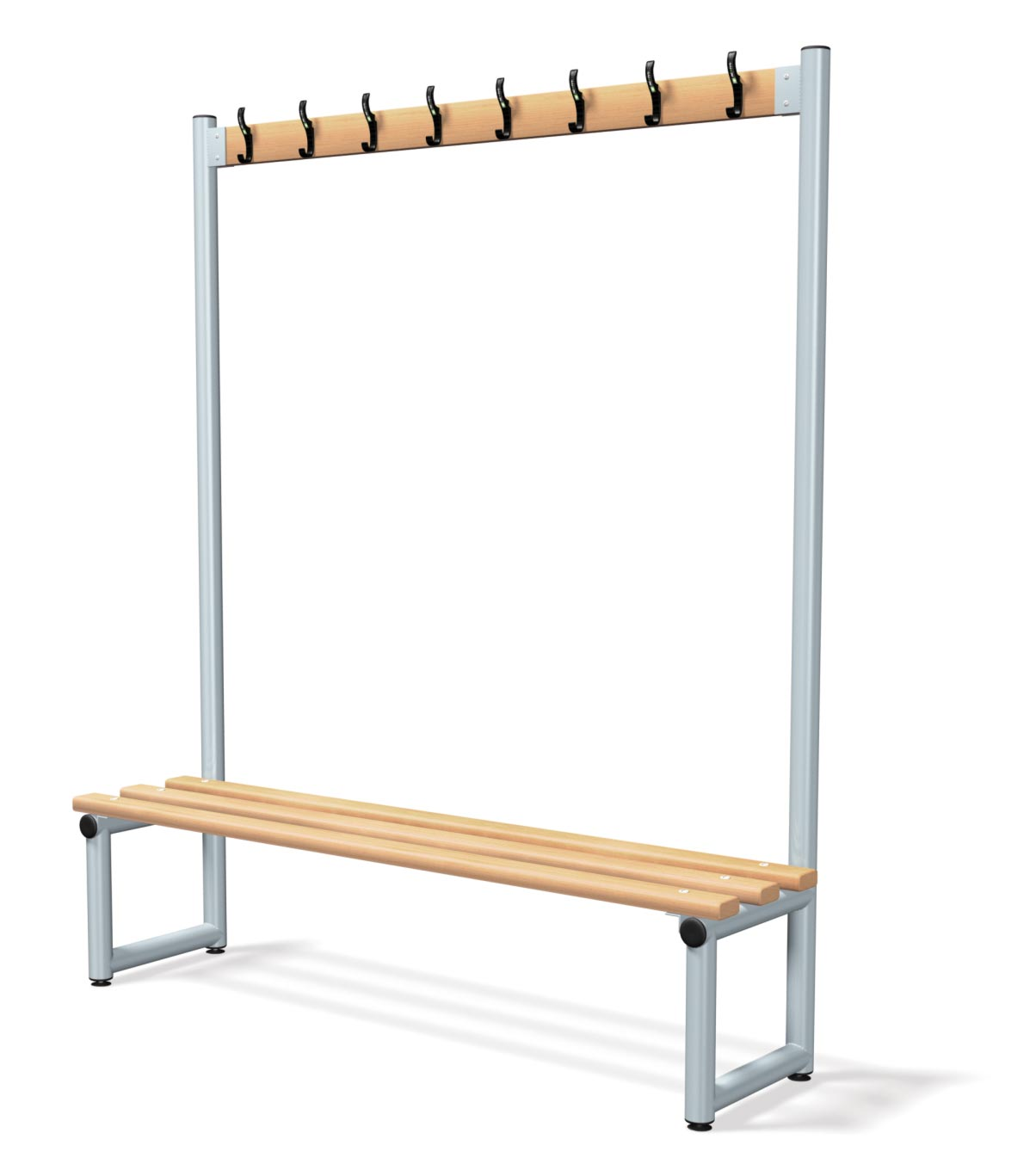 Single Sided Bench Integrated Hook Board - Type D Junior