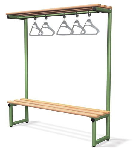 Single Sided Bench Integrated Hook Board - Type D Infant