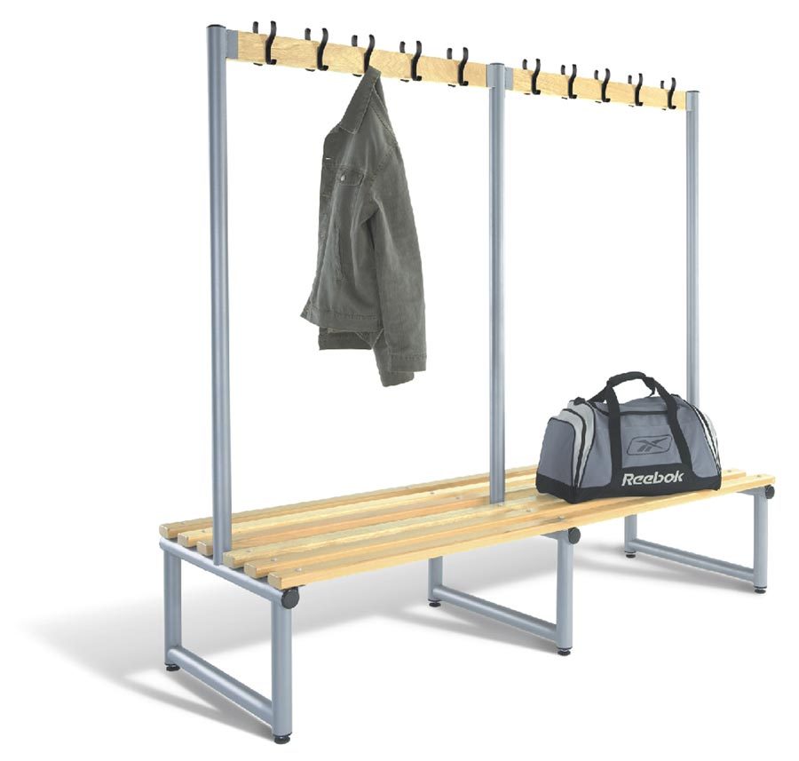 Double Sided Bench Integrated Hook Board - Type D