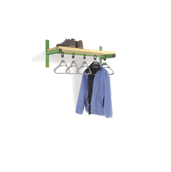 Wall Mounted Cloakroom Bench- Type E Infant
