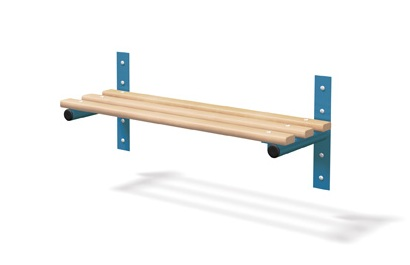 Wall Mounted Cloakroom -Shelf/Rail - Type F Junior