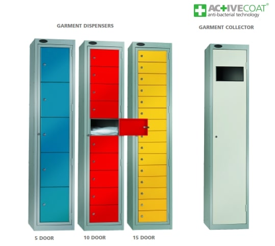 Garment & Uniform Management Lockers