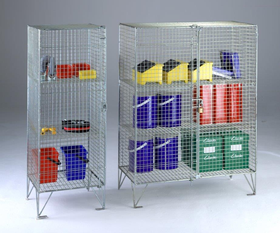 Wire Mesh Cabinets & Cupboards