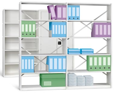 IKON Shelving Braced 1000mm wide