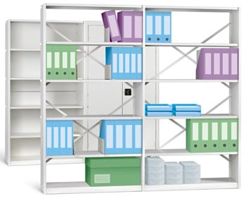 IKON Shelving Braced 900mm wide