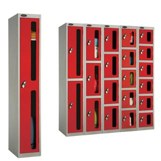 Security Vision Panel Lockers