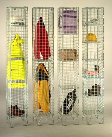 Wire Mesh Premium Lockers