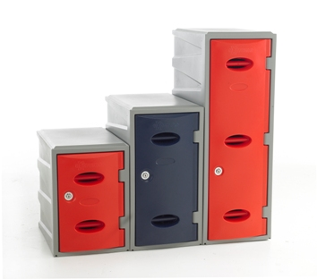 Schools eXtreme Plastic Lockers 450mm High