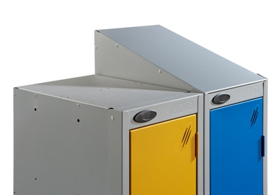 Colour Range Three Compartments Locker