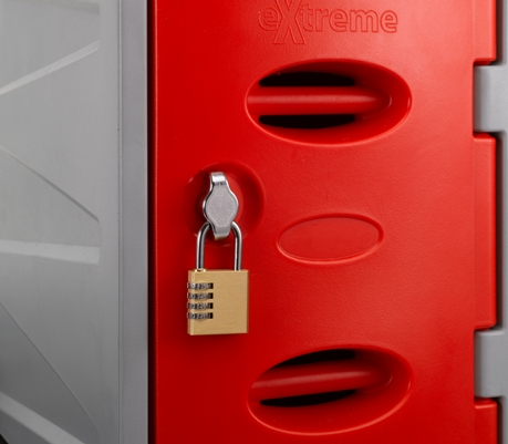 eXtreme Plastic Lockers 450mm High