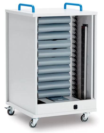 Lyte Single Door 20 Metal Shelf Trolley