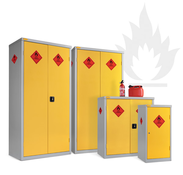 8 Compartment Hazardous Cabinet