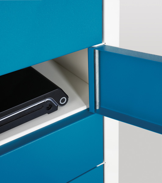 Laptop Charge and Store Locker -Single Door 10 Shelf