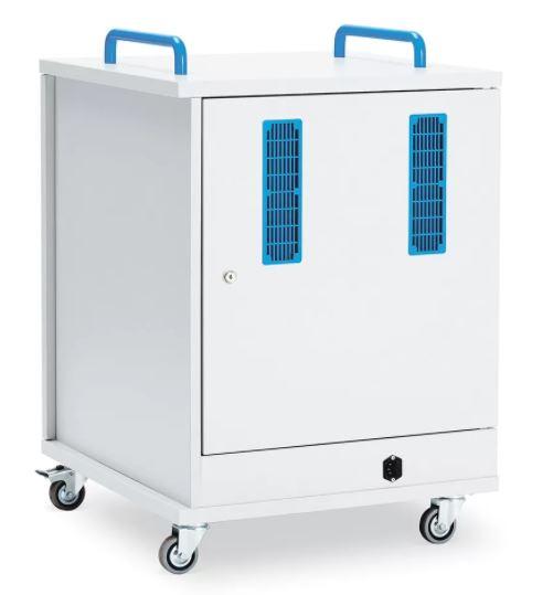 Lyte Single Door 16 Metal Shelf Trolley
