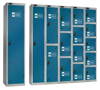 PPE Three Locker Compartments