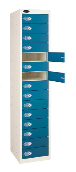 Laptop Charge and Store Locker -15 Door (Charging). Sch