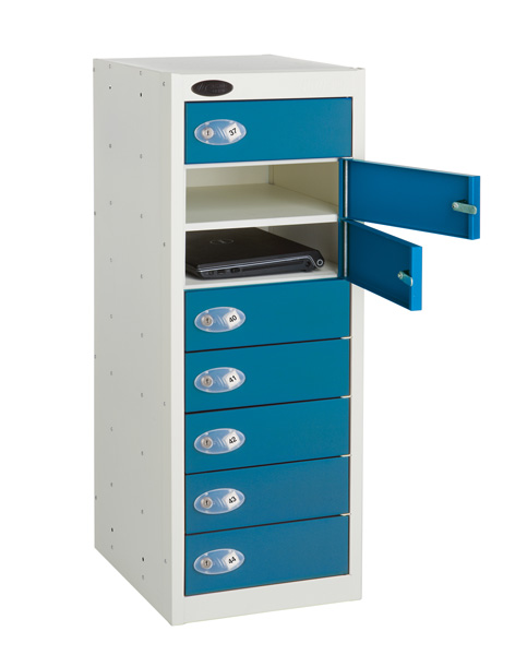 Non Charging Low Laptop Storage Locker - 8 Compartments School Lockers