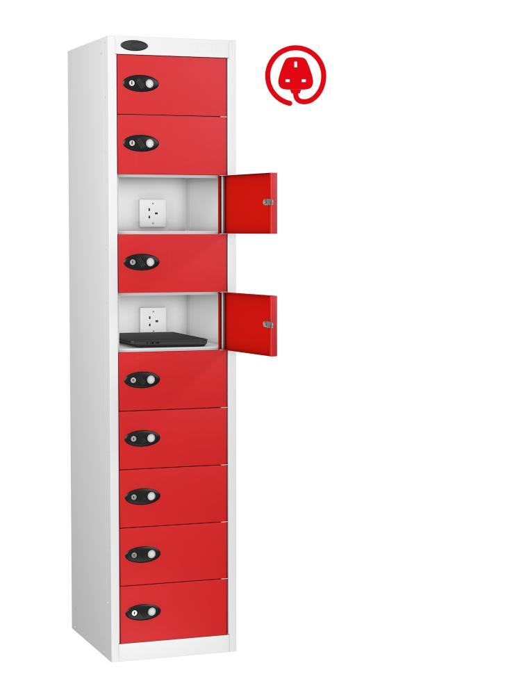 Mobile Phone Charge and Store Locker 10 Doors (Charging)