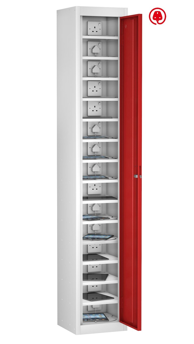 Mobile Phone Locker Single Door 15 Shelf