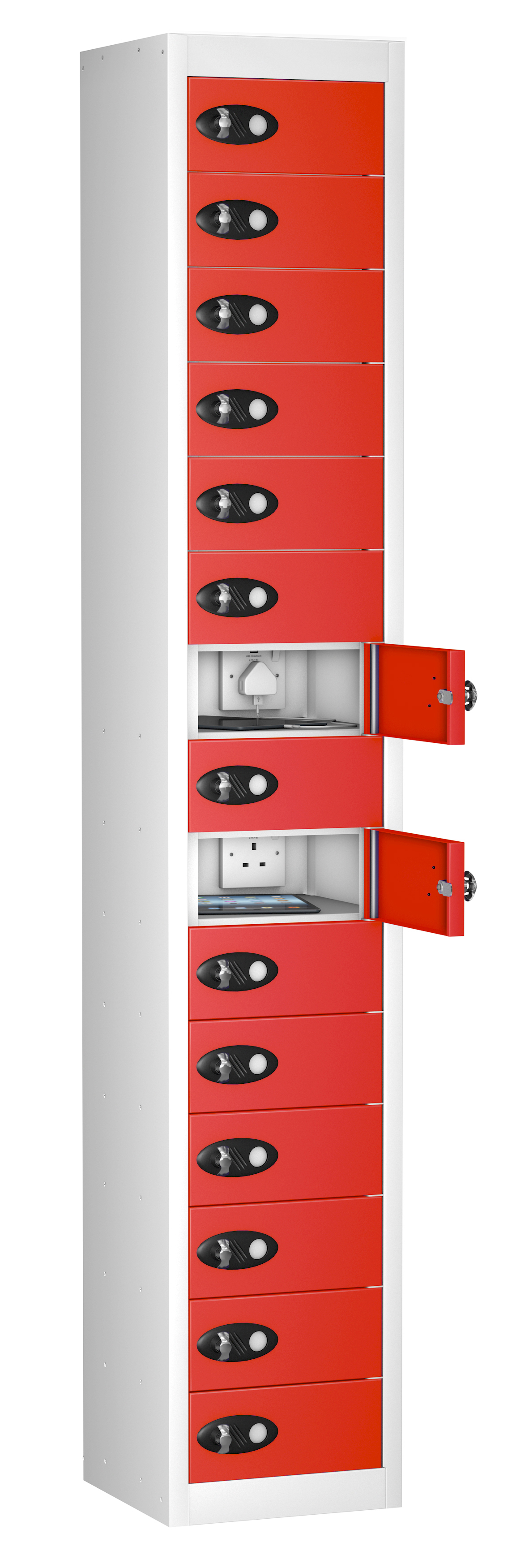 Mobile Phone Locker 15 Doors (Charging)