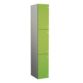 ZENBOX Aluminium Three Compartment Locker