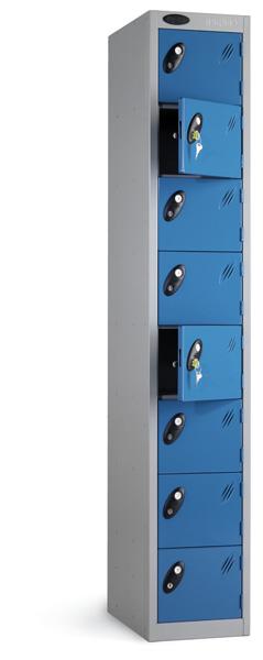 Eight Compartments Locker