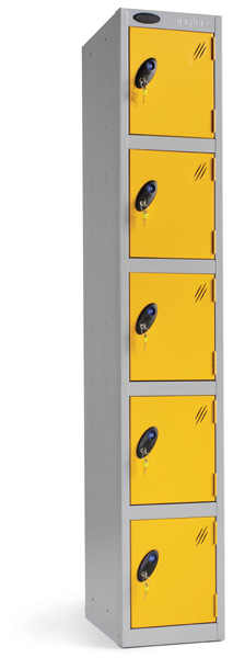 Five Compartments Locker