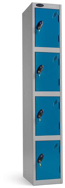 Four Compartments Locker