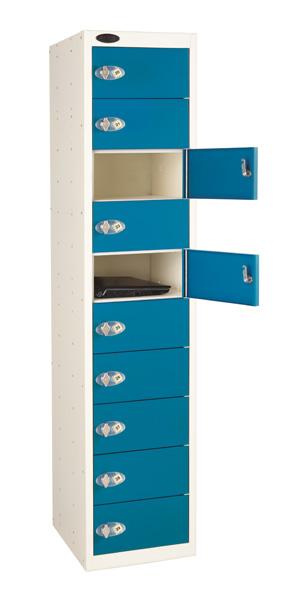 Laptop Storage Locker -10 Doors (Non Charging)