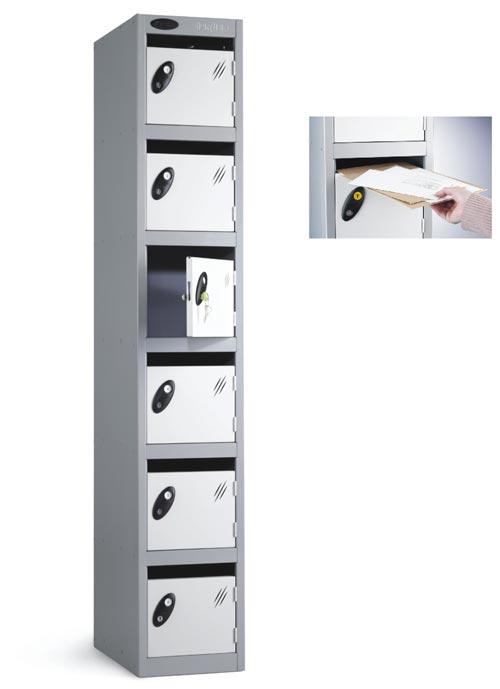 Post locker- Six Compartments