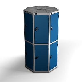 7 Pods 2 Door Locker - Total 14 Compartments