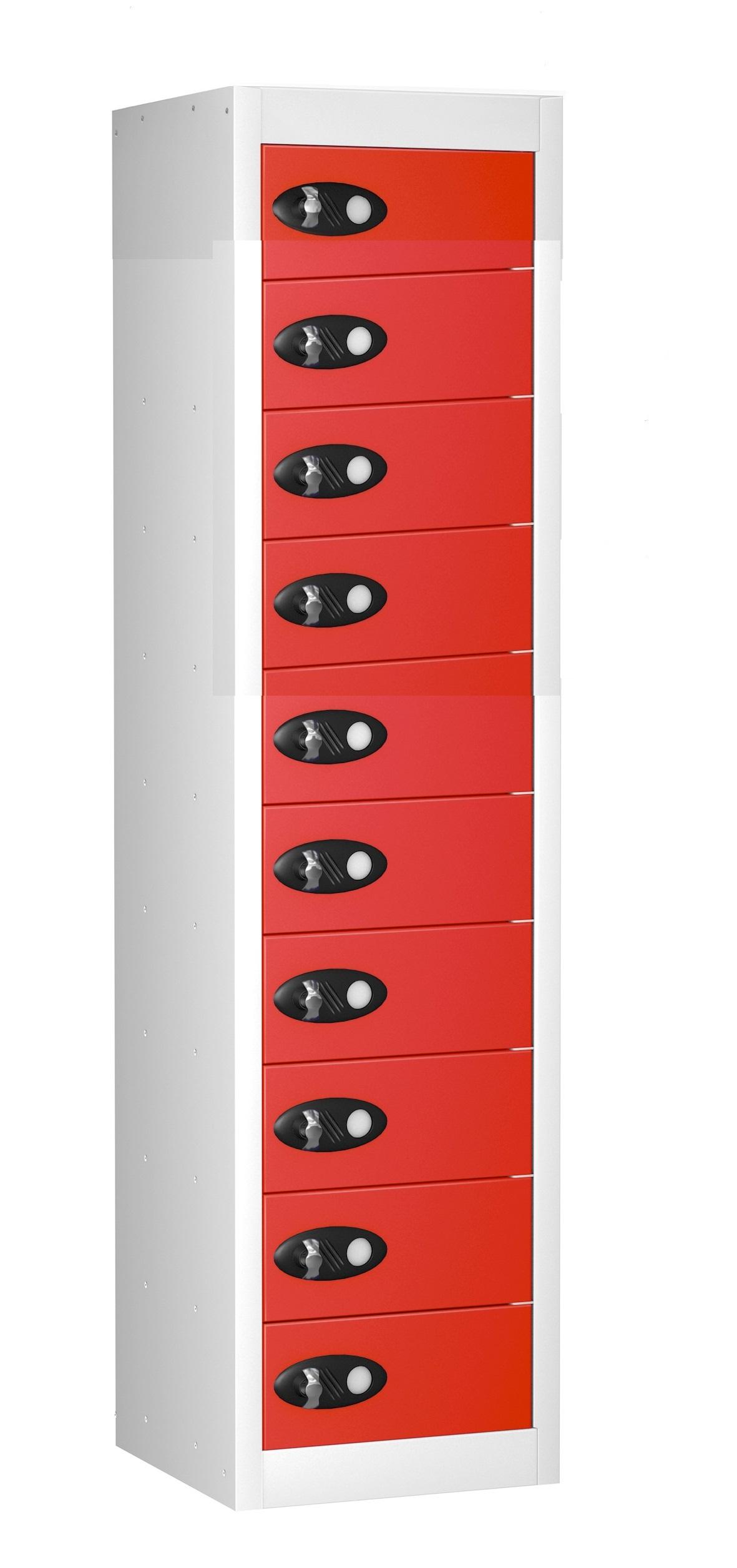 TABLET Storage Locker -10 Doors (Non Charging)