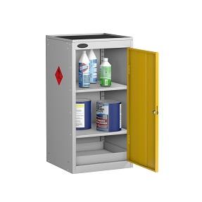 Small Hazardous Cabinet Dish Top 2 Shelves