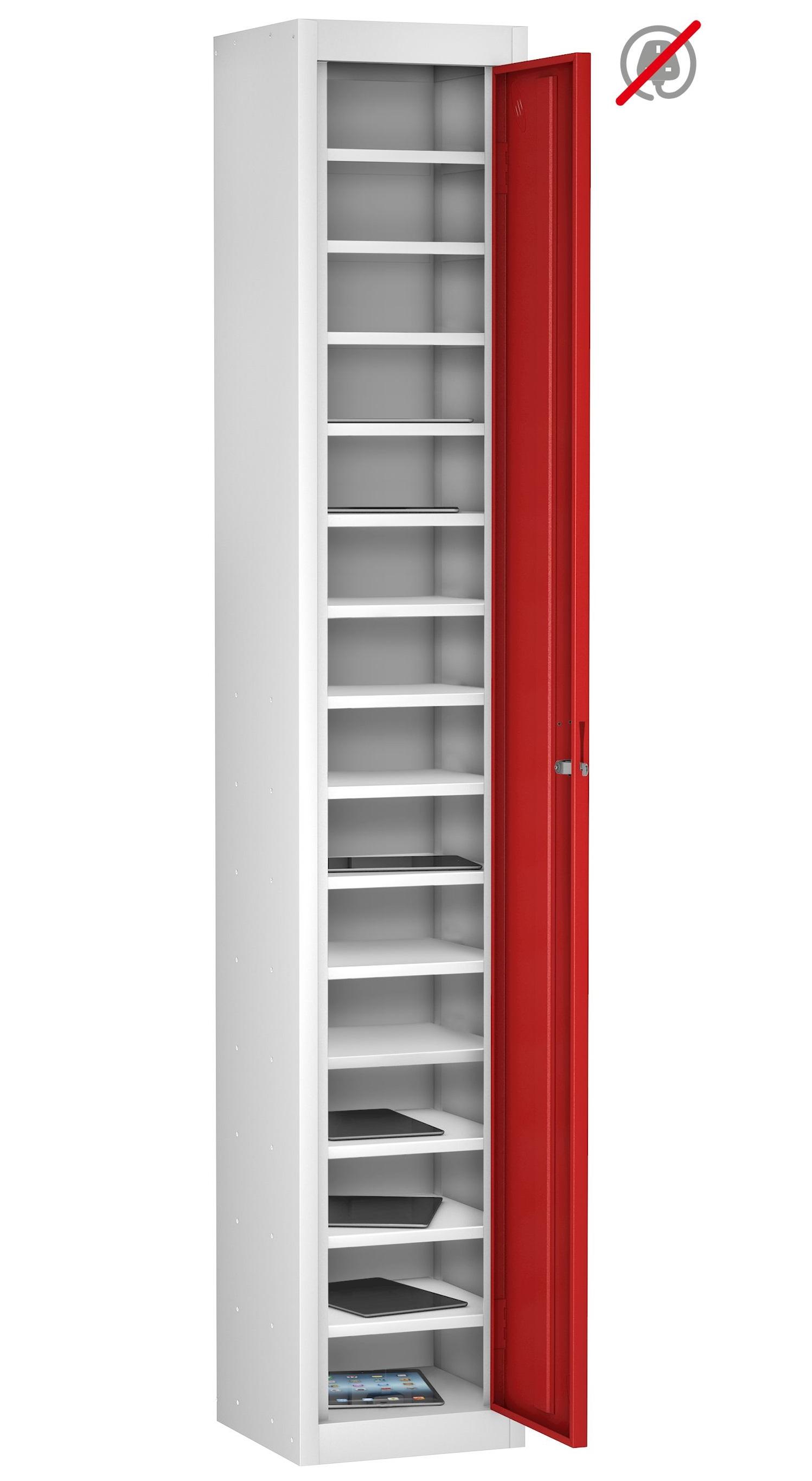 TABLET Locker Sgle Dr 15 Shelf - Non Charge