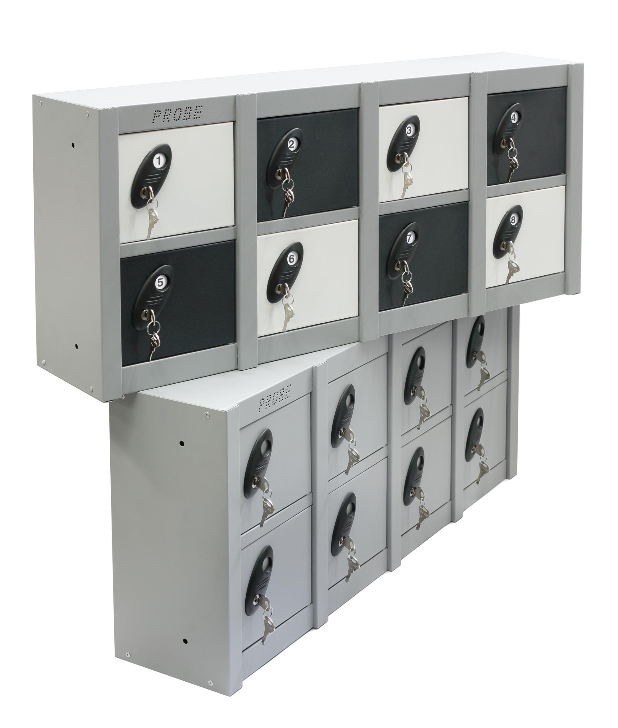 8 Compartments Mobile Phone and Personal Effect Locker