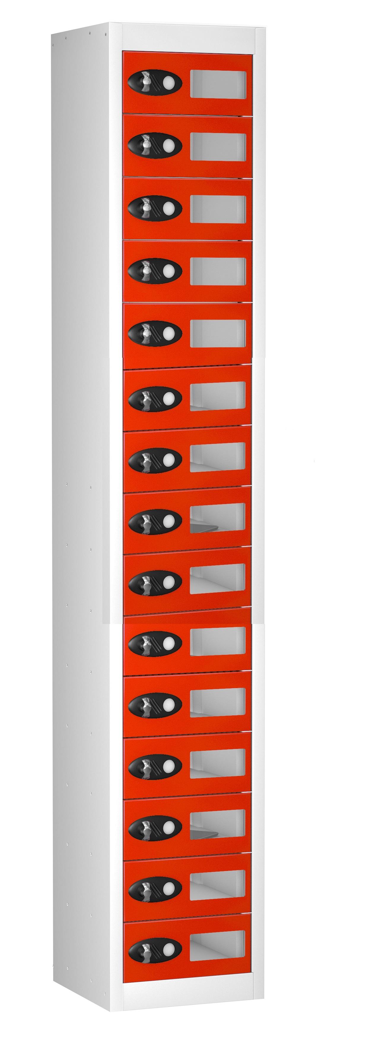 VISION PANEL TABLET Storage Locker -15 Doors (Non Charging)