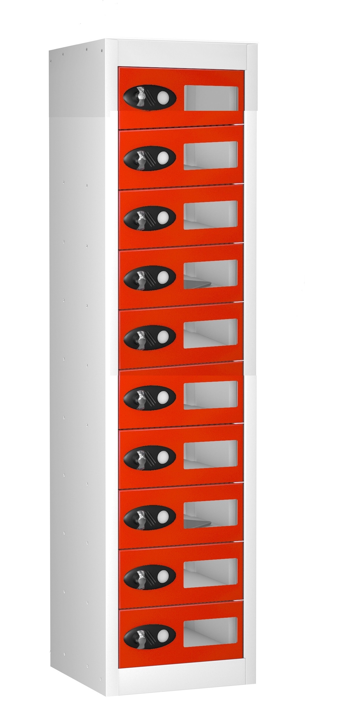 Vision Panel Tablet Charge and Store Locker -10 Doors (Charging)