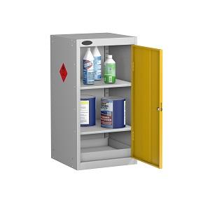 Small Hazardous Cabinet 2 Shelves