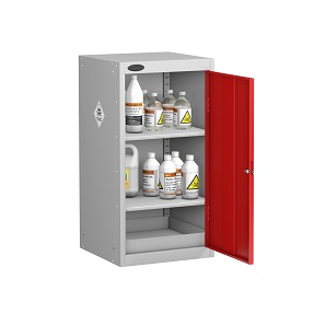 Small Toxic Cabinet 2 Shelves