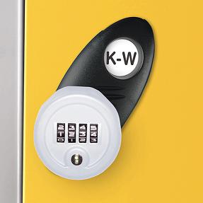 Type K-W Re-programmable Combination Lock