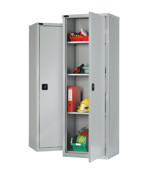 Slim Std Industrial Cupboard 3 Adj Shelves